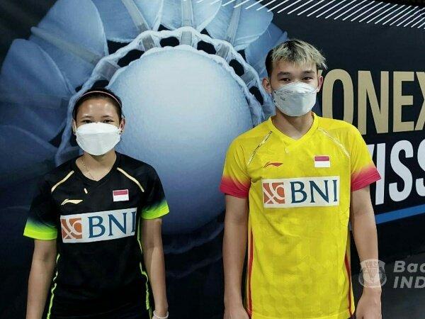 Rinov dan Mentari Kandas di Babak Kedua Swiss Open 2021