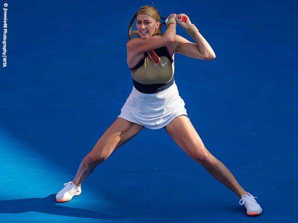 Petra Kvitova melaju ke semifinal Qatar Open untuk kali ketiga