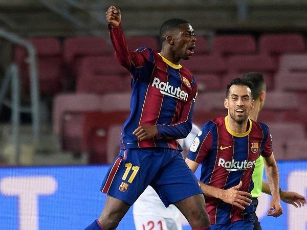 Ousmane Dembele masuk skuat Barcelona untuk laga kontra Osasuna.