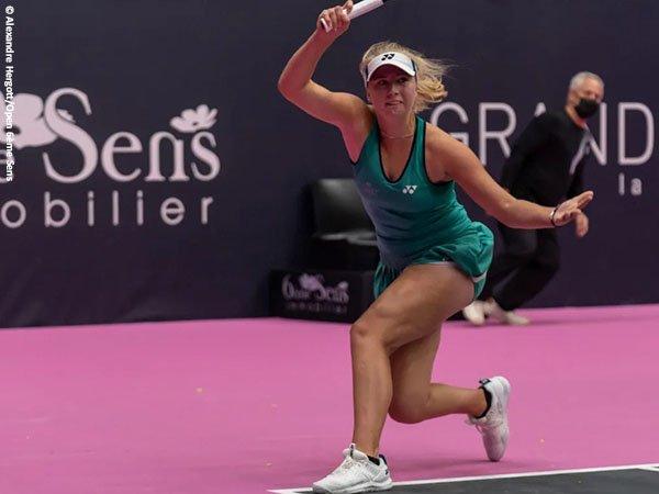 Clara Tauson melaju ke semifinal turnamen WTA untuk kali pertama di Lyon Open 2021