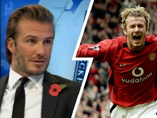 David Beckham mengaku sempat 2 tahun tak menyaksikan laga MU paska hengkang
