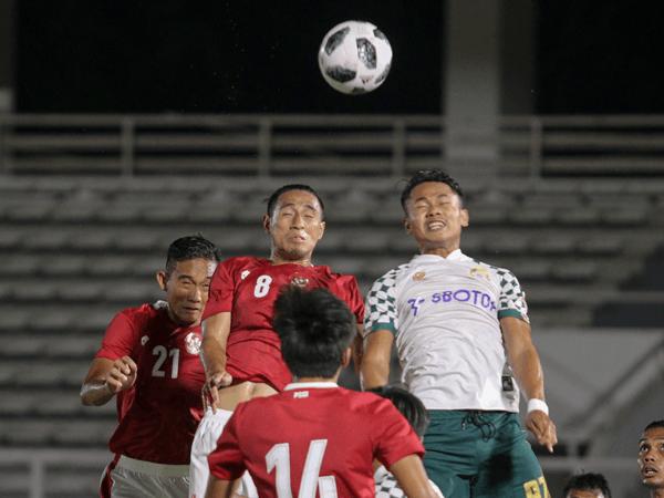 Laga timnas Indonesia U-23 vs PS Tira Persikabo