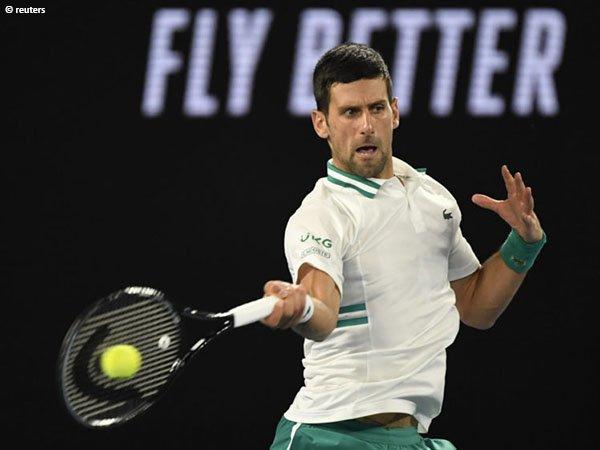 Novak Djokovic akan kembali beraksi di Miami Open 2021