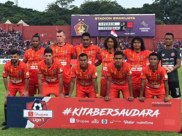 Skuat Persiraja Banda Aceh saat tampil di Liga 1 2020