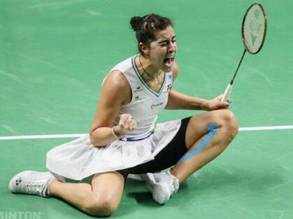 Carolina Marin dan Victor Axelsen Tembus Final Swiss Open 2021