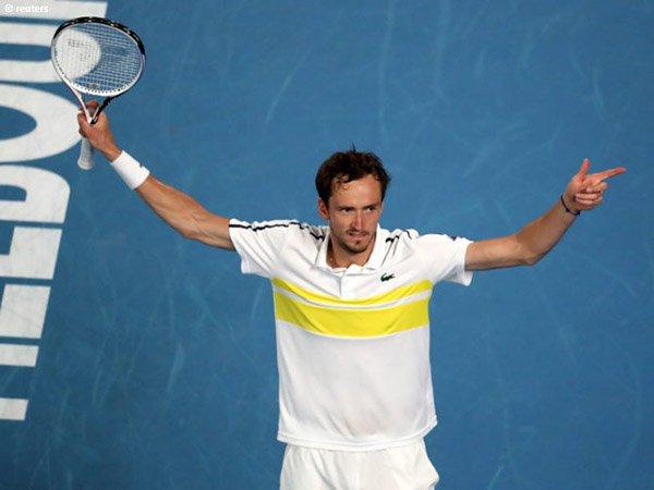 Daniil Medvedev semakin dekat dengan peringkat 2 dunia