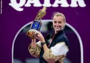 Garbine Muguruza Bertekuk Lutut, Petra Kvitova Sabet Gelar Kedua Di Doha