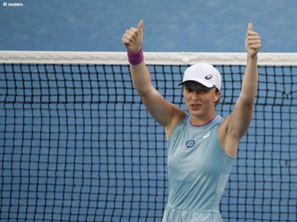 Iga Swiatek berusia 19 tahun ketika memenangkan French Open 2020