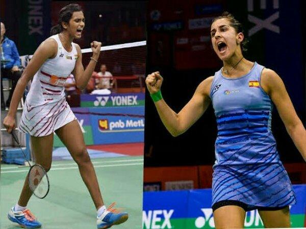 PV Sindhu Tantang Carolina Marin di Final Swiss Open 2021