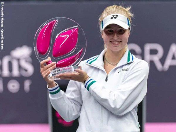 Clara Tauson keluar sebagai juara Lyon Open 2021