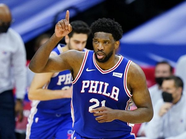 Center andalan Philadelphia 76ers, Joel Embiid.