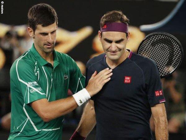 Novak Djokovic [kiri] memasuki pekan ke-311 sebagai petenis peringkat 1 dunia