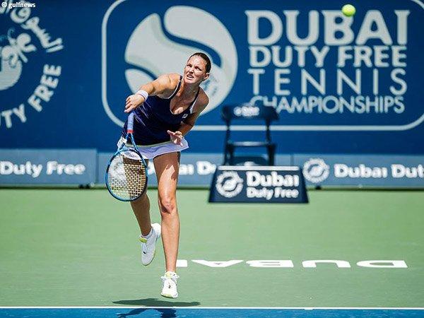 Karolina Pliskova melenggang ke babak ketiga di Dubai musim 2021