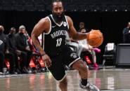 James Harden Cetak Triple-Double, Nets Kalahkan Pistons
