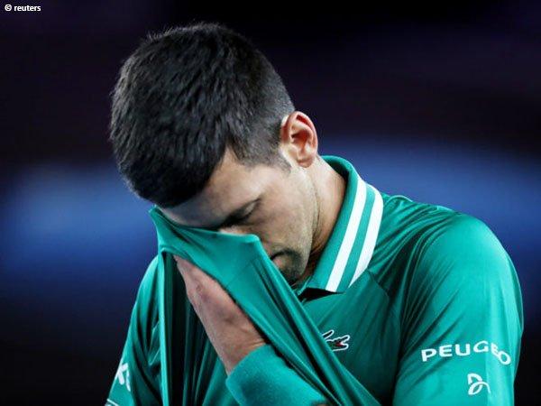 Kekalahan di French Open 2010 pernah membuat Novak Djokovic merasa sangat terpuruk