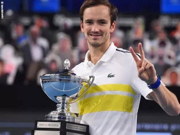 Daniil Medvedev gantikan Rafael Nadal sebagai petenis peringkat 2 dunia