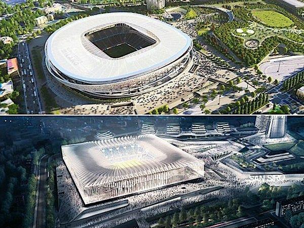 Rencana stadion baru AC Milan