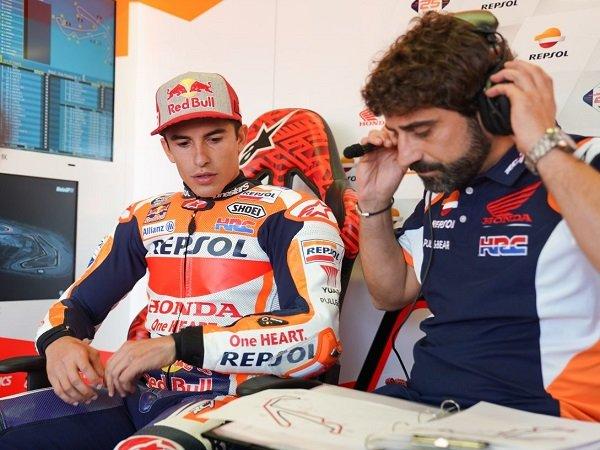 Marc Marquez berharap bisa pulih sebelum GP Qatar.