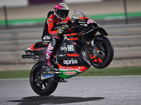 Aleix Espargaro percaya diri bisa tampil memuaskan selama balapan perdana.