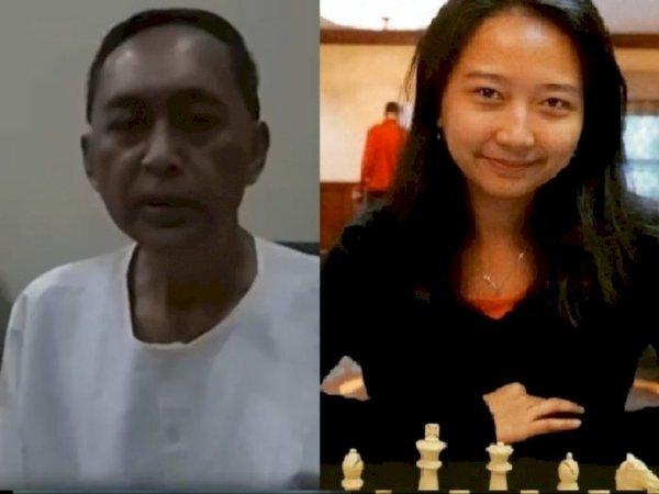 Difasilitasi Deddy Corbuzier, Dewa Kipas tantang duel catur GM Irene Kharisma Sukandar / via Istimewa