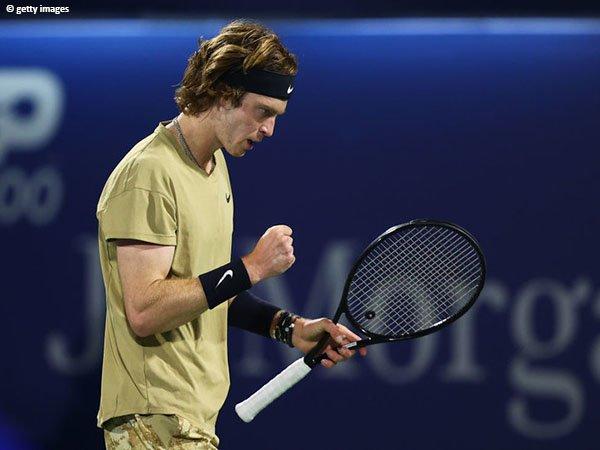 Pencapaian terbaik Andrey Rublev di turnamen Masters 1000 adalah perempatfinal di CIncinnati musim 2019