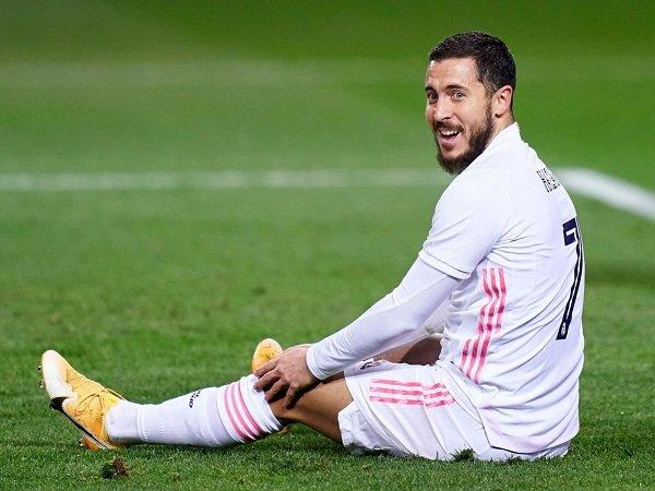 Real Madrid putuskan untuk tidak mengoperasi Eden Hazard.