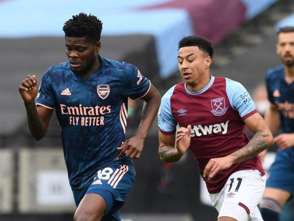 Thomas Partey mengkritik penampilan Arsenal melawan West Ham