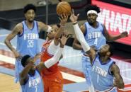 Tumbang Dari OKC Thunder, Houston Rockets Kalah 20 Kali Beruntun