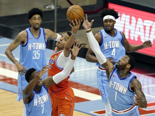 Houston Rockets gagal hentikan laju dari OKC Thunder.
