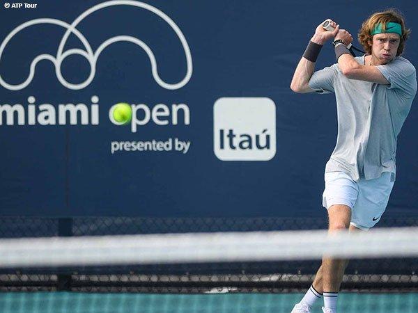 Andrey Rublev siap beraksi di Miami Open 2021