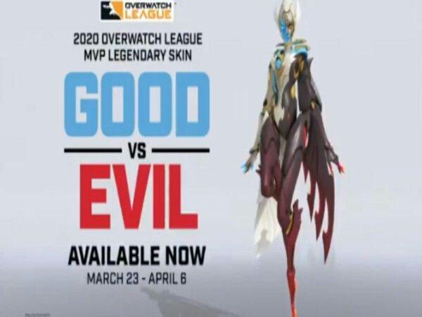 Fleta MVP Overwatch League 2020 Dapatkan Skin Bernama Good vs. Evil