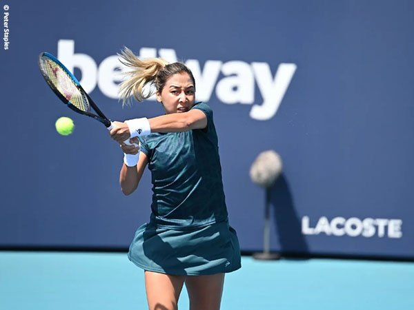 Zarina Diyas melaju ke babak kedua Miami Open 2021