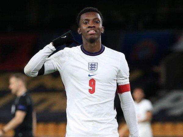Eddie Nketiah ditunjuk sebagai kapten Inggris U-21