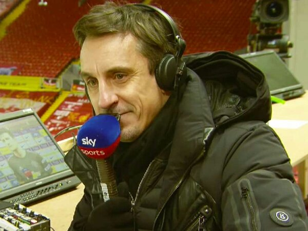 Menurut Gary Neville, Manchester United berpeluang finish kedua di Liga Premier
