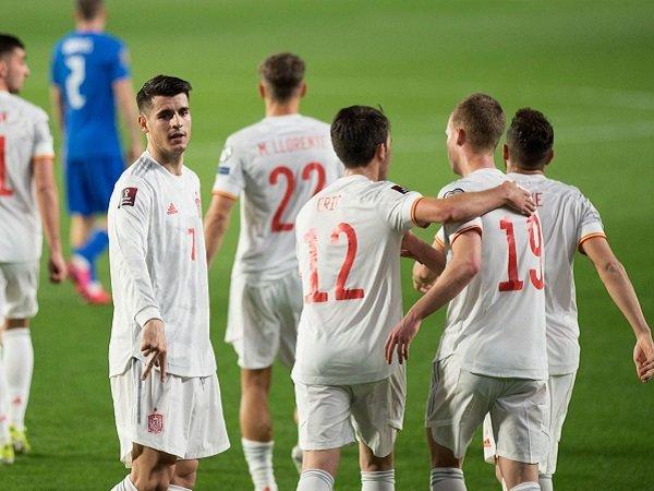 Spanyol tertahan 1-1 kontra Yunani.