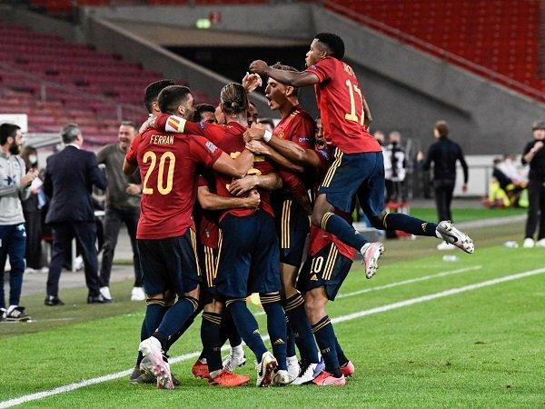 Spanyol menghadapi Georgia dalam laga berikutnya di kualifikasi Piala Dunia 2022.