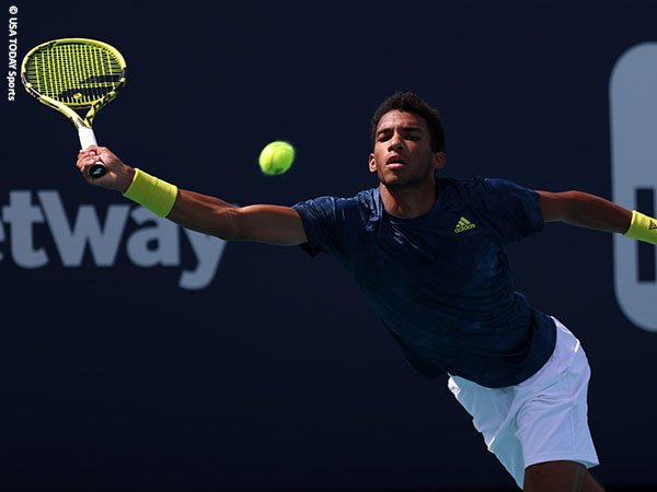 Felix Auger Aliassime tetap positif meski kalah di babak ketiga Miami Open 2021