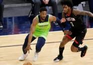 Malik Beasley Malu Timberwolves Kalah Telak Dari Rockets