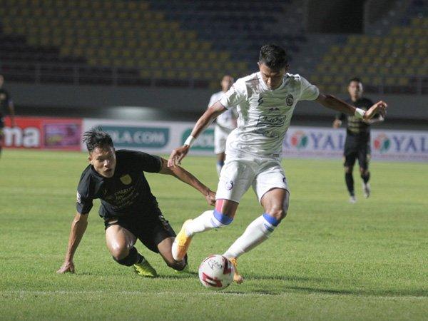 Sepasang gol Dedik Setiawan tak mampu selamatkan Arema FC