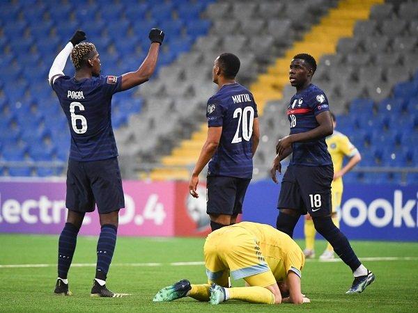 Prancis hadapi Lithuania dalam pertandingan lanjutan kualifikasi Piala Dunia 2022.
