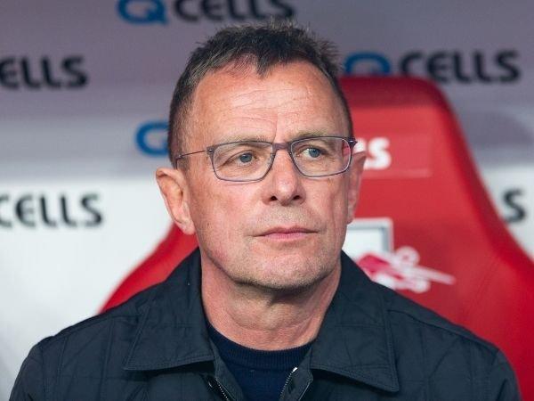 Ralf Rangnick saat menjadi pelatih kepala RB Liepzig