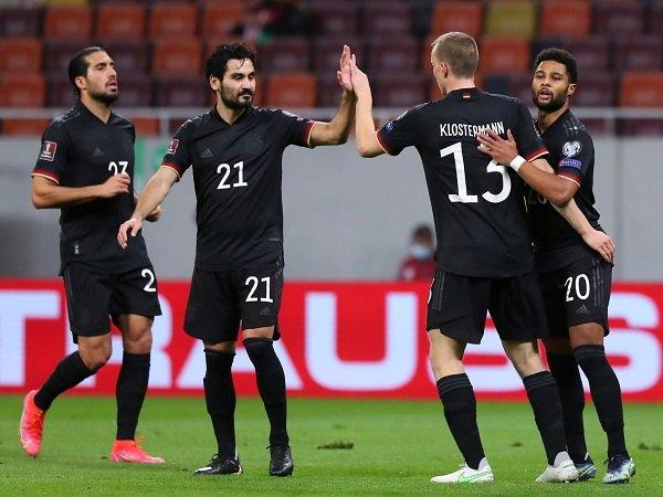 Jerman menghadapi Makedonia Utara dalam laga lanjutan kualifikasi Piala Dunia 2022.
