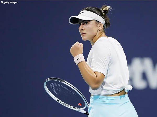 Bianca Andreescu melenggang ke semifinal Miami Open 2021