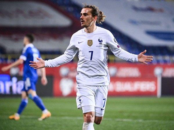 Gol satu-satunya Antoine Griezmann berikan kemenangan tipis untuk Prancis atas Bosnia.