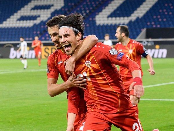 Makedonia Utara taklukkan Jerman dengan skor 2-1 di kualifikasi Piala Dunia 2022.