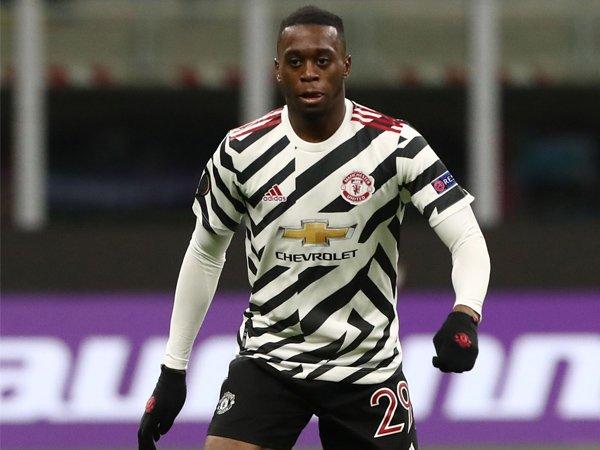 Bek kanan Manchester United, Aaron Wan-Bissaka.
