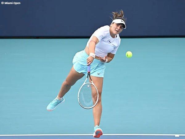 Cedera halangi langkah Bianca Andreescu di final Miami Open 2021