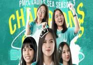 Belletron Ace Bawa Pulang Trofi di PMPL SEA Ladies S3, BabyLa Jadi MVP