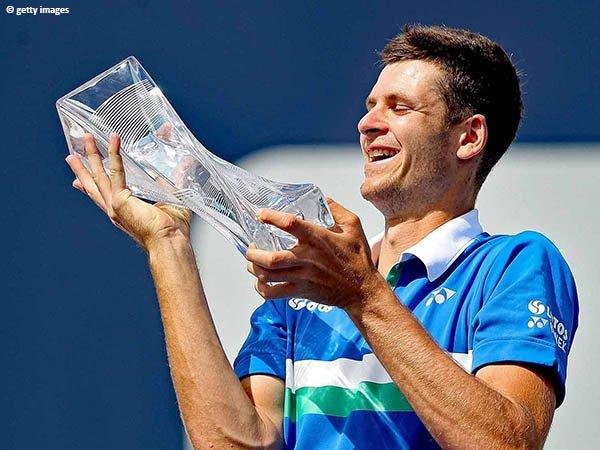 Hubert Hurkacz keluar sebagai juara Miami Open 2021