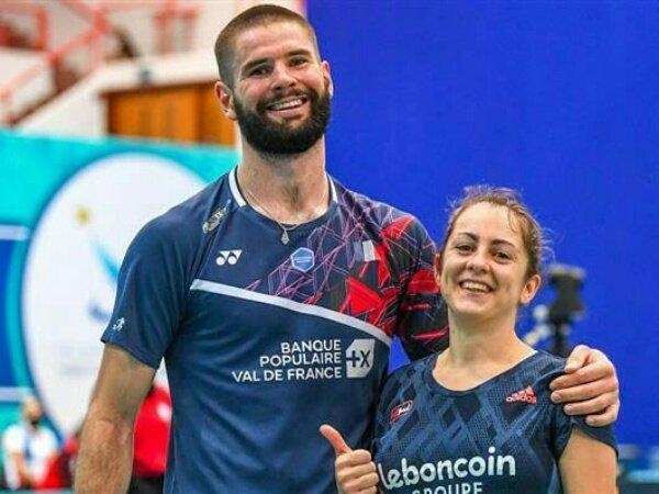Kalahkan Ganda Campuran Indonesia, Perancis Juara Dubai Para Badminton 2021